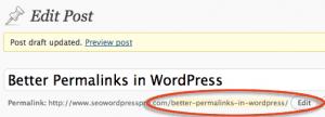 Set Clean URL Permalinks in WordPress