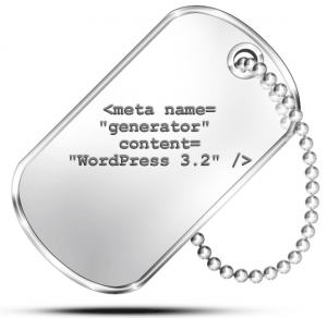 Hiding the Meta Generator Tag in WordPress in the Header and RSS