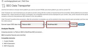 Swapping WordPress SEO Plugins from Platinum SEO to Yoast SEO