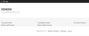 Create a Widgetized Custom Home Page in Genesis Child Theme WordPress