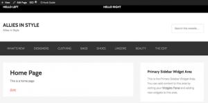 Create a PreHeader Full Width Wrap Bar in Genesis Theme