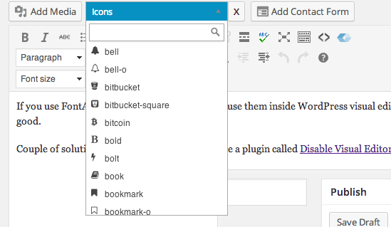 icons-in-visual-editor-wordpress