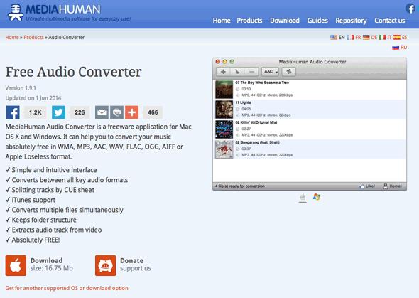 Media Human Audio Convertor