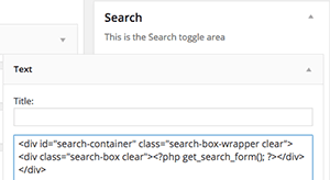 search-widget
