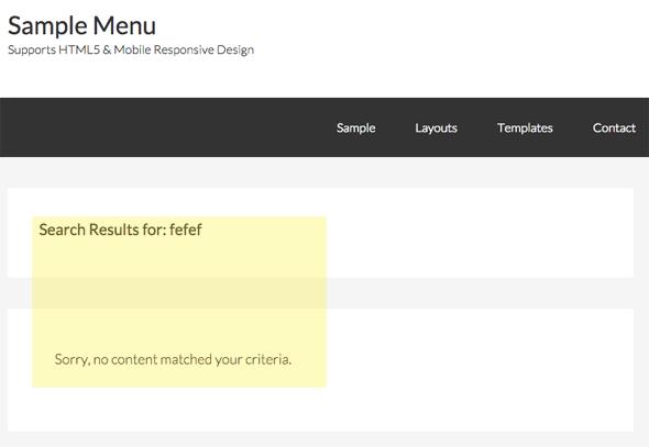 genesis-no-results