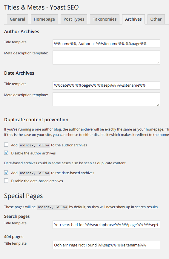 wordpress-yoast-archive-settings