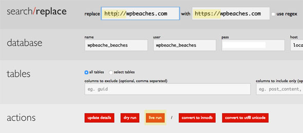 search-and-replace https