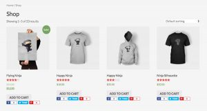 Position Genesis Simple Share Icons in WooCommerce Products and Shop Page