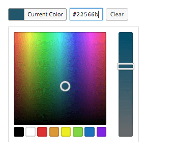Add an Alpha RGBa Color Picker to a WordPress Plugin Input Field