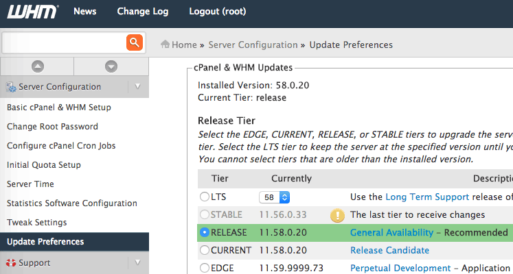 cpanel-whm-current-release