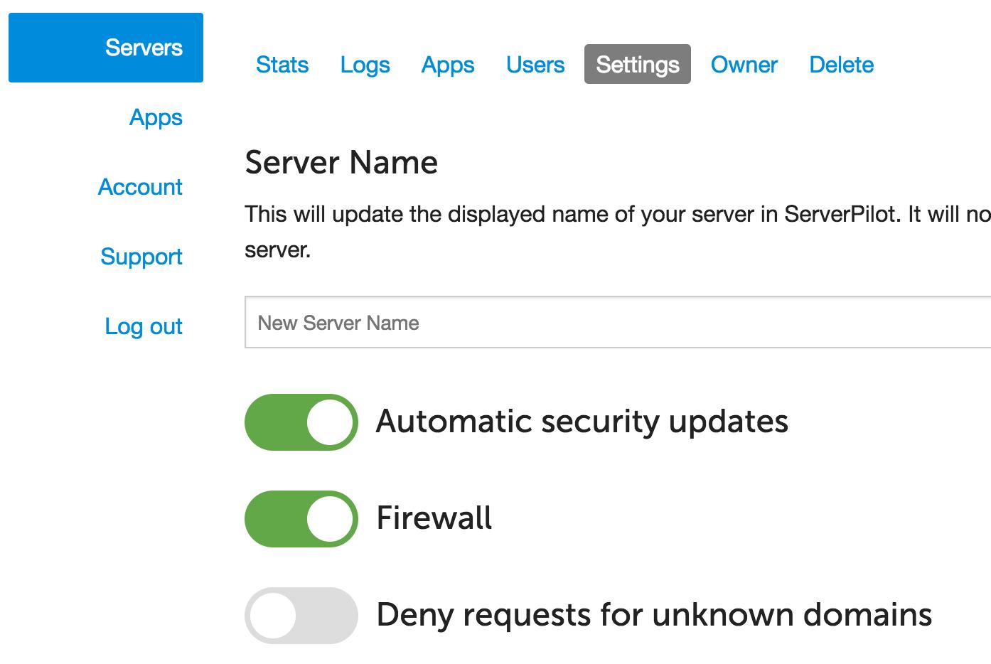 server-pilot-firewall-ssh