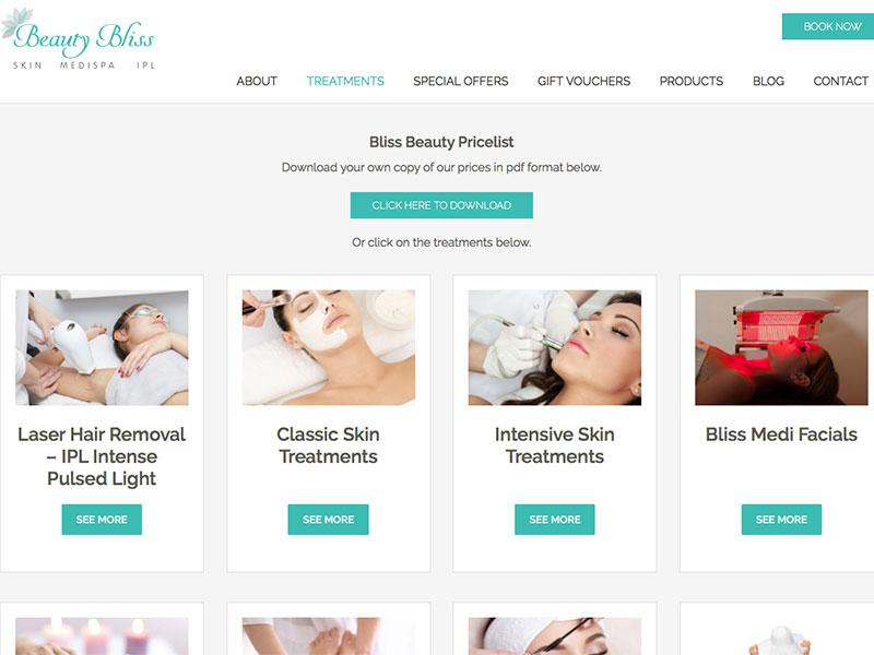 Beauty Bliss Treatments