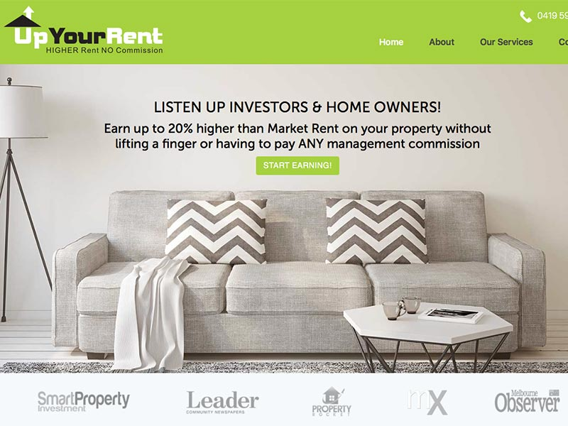 Up Your Rent Home