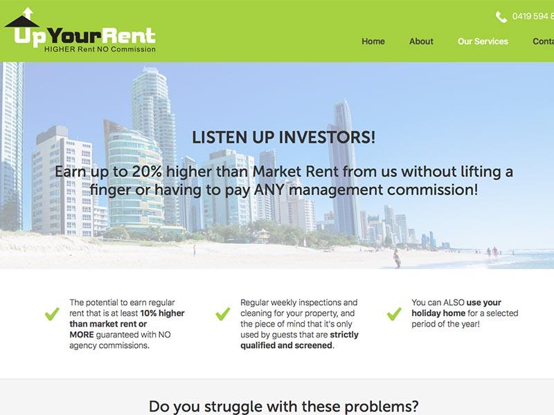 Up Your Rent Investors