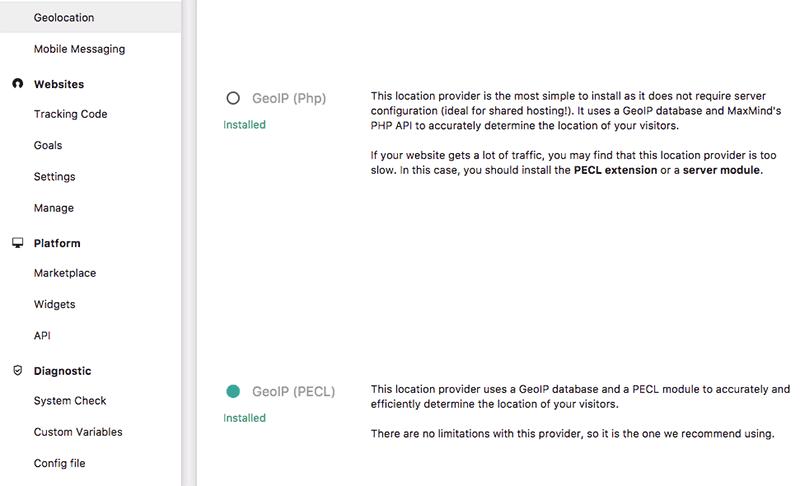 Setting Up GeoIP Location on Piwik on ServerPilot | WP Beaches