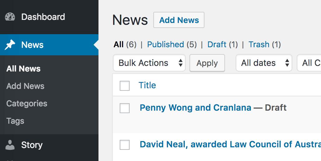 Change the WordPress Post Type name to Something Else
