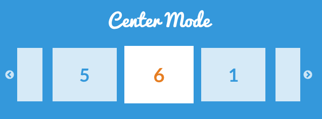 Slick Center Mode Woocommerce Loop