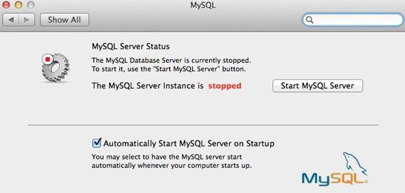 Mysql Server Stop